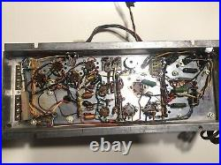 Vintage The Fisher 481A Stereo Amplifier Chassis 2 Output Transformers No Tubes