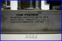 Vintage The Fisher Stereo Tube Amplifier / 460-A - KT