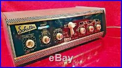 Vintage Very Rare 1963 Schaller Echo Sound Disc Tube Delay Preamp 110-240V TOP