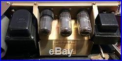 Vintage Very rare Ampex 622 Tube Amplifier Speaker Suitcase Cabinet