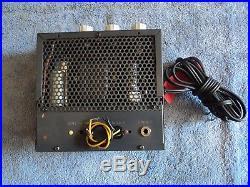 Vintage Vom Voice Of Music Se Single Ended 6v6 Tube Amplifier