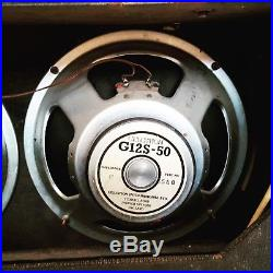Vintage Vox AC30 Original 1964 JMI 2x12 Combo Guitar Tube Amp