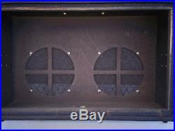 Vintage Vox Berkeley II Tube Amp 2 x 10 Speaker Cabinet with Trolley All Original
