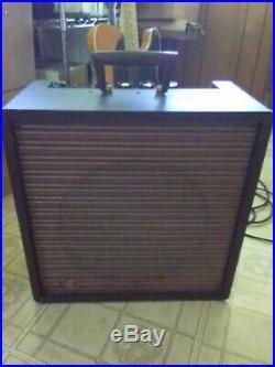Vintage orpheum univox valco guitar tube amp 63-4w tremolo el84 12ax7 ez81