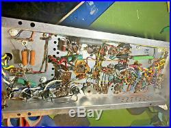 Vintage tubeAmp The Fisher Amplifier Chassis Pulled From Console Working