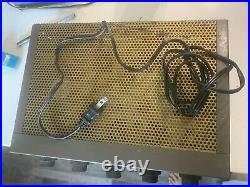 Vintage tube amplifier EICO
