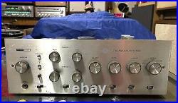 Vtg 1960s Harman Kardon Award Series A50K Tube Amplifier Amp Working Sold As Is
