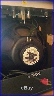 Vtg 1973 Fender Silverface Musicmaster Bass 1x15 Jensen Re-cap'd Tube Amp