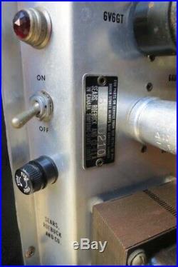Vtg 60's DANELECTRO SILVERTONE 1472 VACUUM TUBE GUITAR AMP AMPLIFIER WORKS 1482