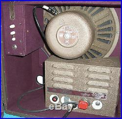Vtg Bell & Howell Filmosound Tube Amp with12 Speaker Guitar/Harp Combo Amp