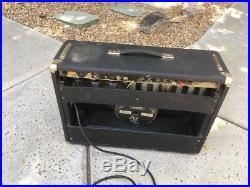 Vtg FENDER Deluxe Reverb Guitar Tube Amp Original 1977