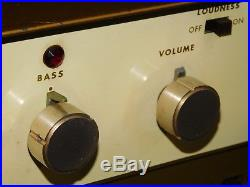 Vtg Lafayette LA-240 Tube Amplifier Audio Stereo Speaker System Integrated Amp
