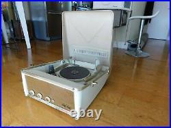 Vtg Motorola Record Player Calypso Tube Amp 3 Speakers Restored Watch It Play