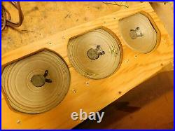 Vtg Voice Of Music Record Player Tube Amp 3 Speakers Restored Watch It Play