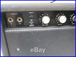 Vtg c1970s Yorkville Traynor YGM-3 Guitar Mate Reverb Valve Tube Amplifier Amp