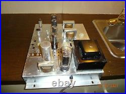 WOW -PERFECT VINTAGE MAGNAVOX VACUUM TUBE STEREO POWER AMPLIFIER AMP 175 6v6