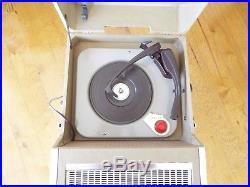 Webcor Vtg Record Player Hi-fi Tube Amp New Cartridge Restored Watch It Play